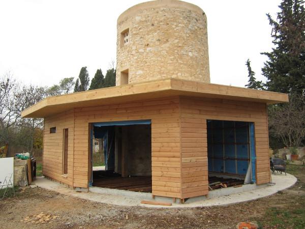 extension surélévation bois Aubenas